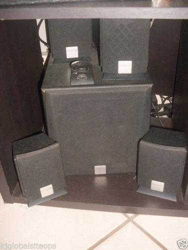 5.1 Creative PC surround sound system with sub