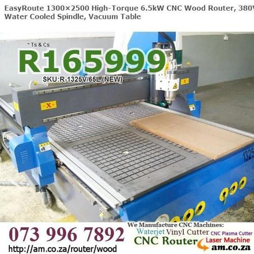 6.5kW 1300×2500mm CNC Woodworking Routing Machine for