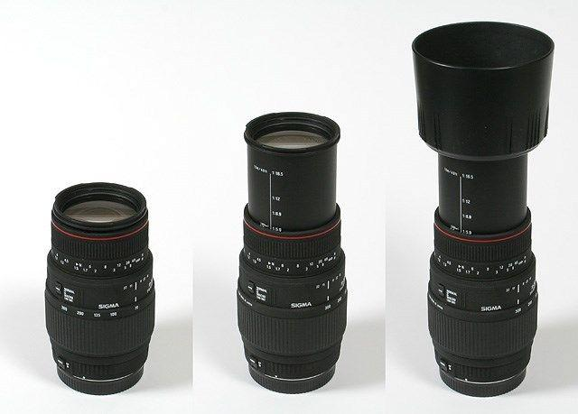 70 - 300MM telezoom lens. Barely used.