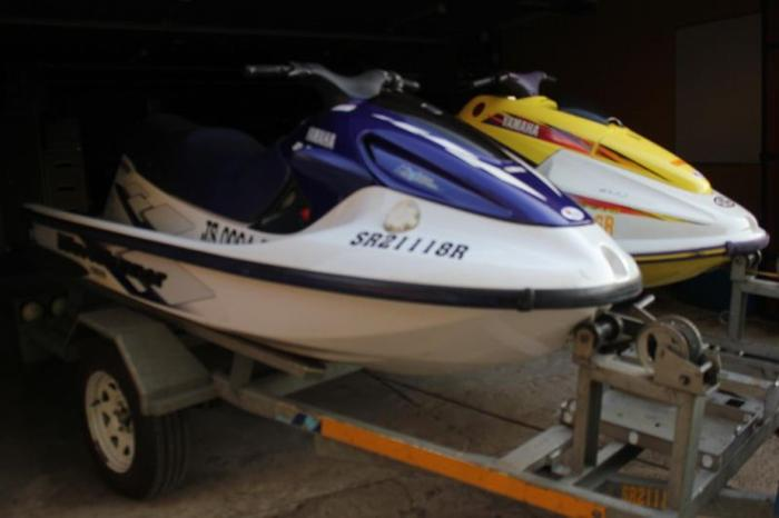 760 Yamaha Wave Blaster 2 & GP 1200R Wave Runner Jet ski's for Sale
