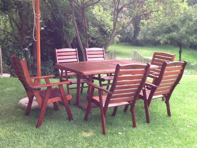 Second Hand Patio Furniture For Sale Johannesburg Supawood Chair E With W
