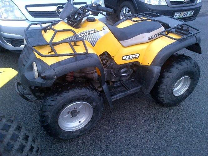aeon quad overland 180 cc auto for sale in east london. Black Bedroom Furniture Sets. Home Design Ideas