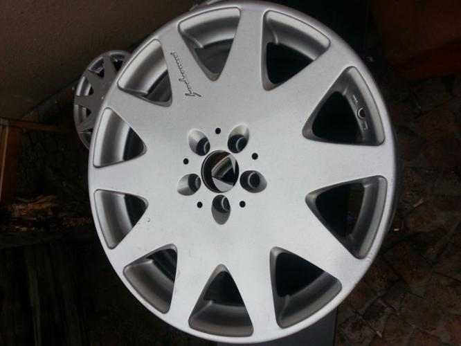 ALFA 18INCH MAGS AND TYRES