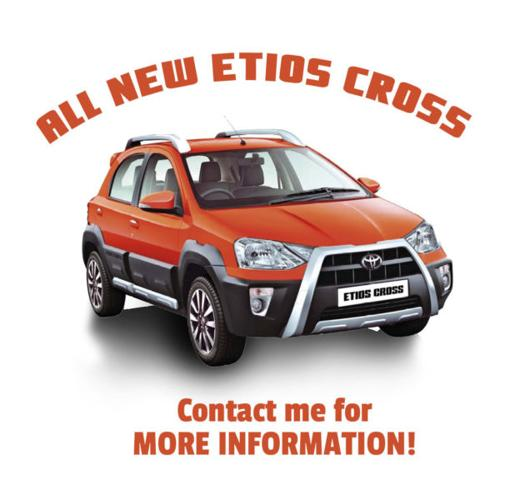 All NEW Etios Cross