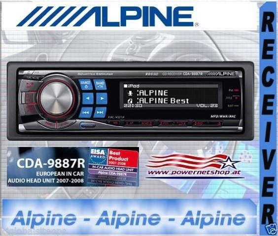 Alpine Car radio for sale.