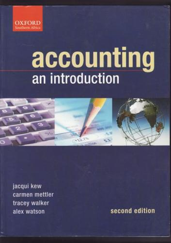 Accounting: An Introduction 2nd Edition, J. Kew, C.