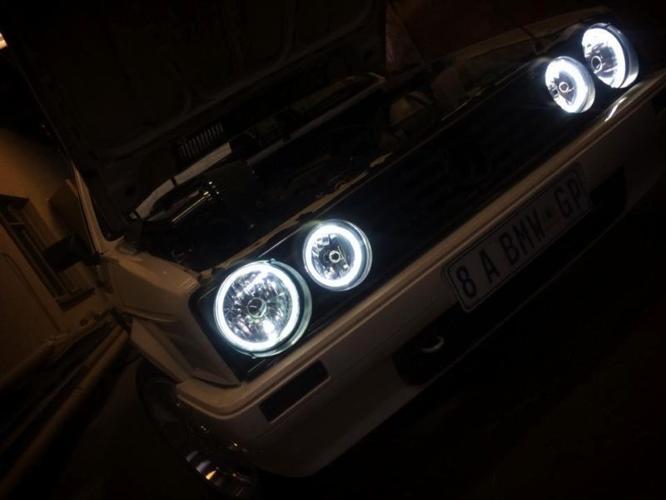 Angel headlights for mk1 Golf