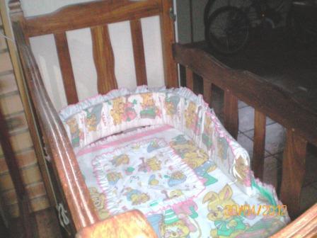 Antique baby cot
