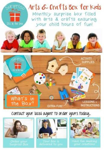 Arts & Craft box for Kids