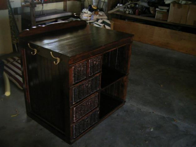 Baby dressing table