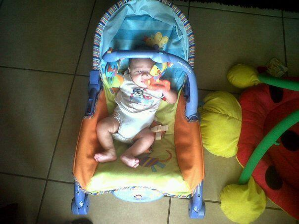 Baby jumping ring, musical rocker chair and play pen