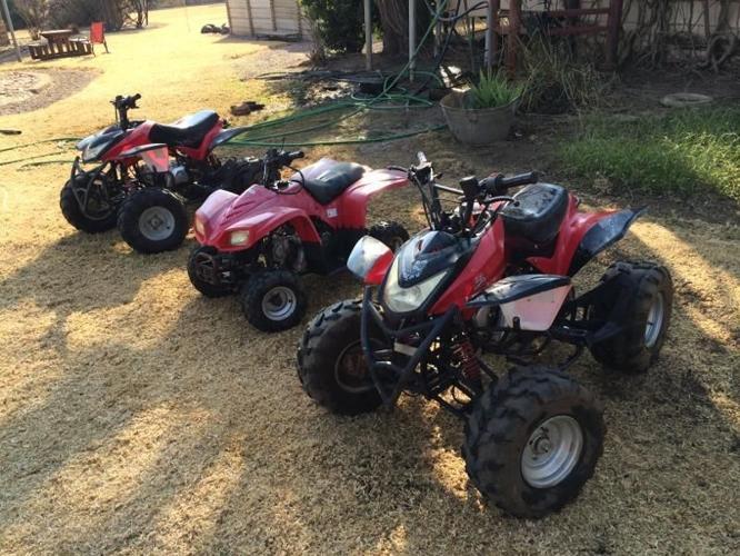 Bargain 3x big boy quads for sale