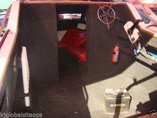 Barronet Cabin 17ft with 115hp Johnson 2-stroke