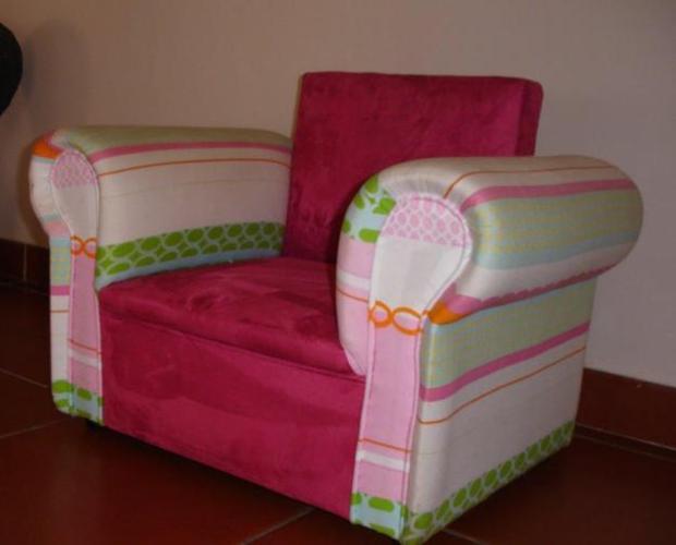 Beautiful Child's padded armchair