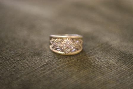 Beautiful designed ring for sale