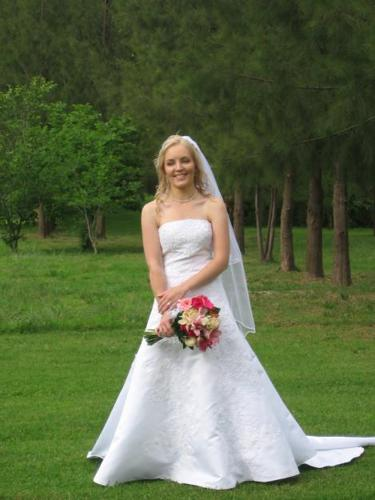 Beautiful Wedding Dress For Sale - Imported, Custom-made from USA in