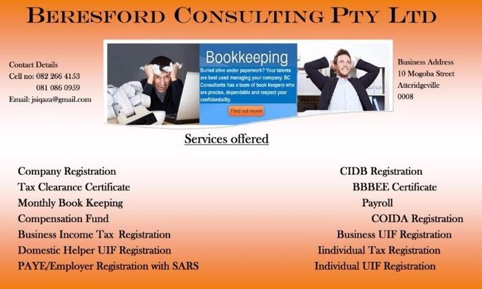 BERESFORD CONSULTING