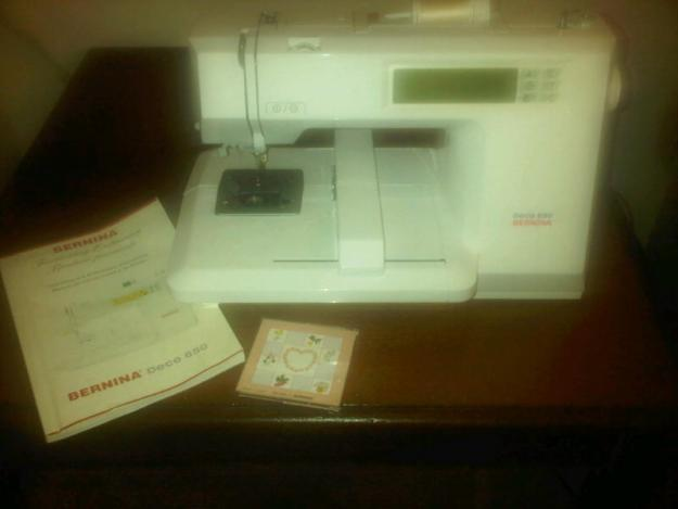 bernina deco 650 embroidery machine