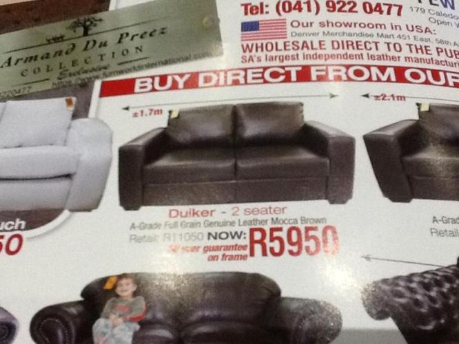 Tremendous Best Deals On Genuine Leather Couches In South Africa Buy Bralicious Painted Fabric Chair Ideas Braliciousco