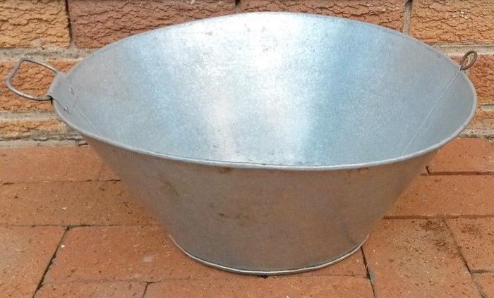 Big galvanized iron sieve