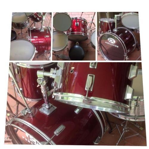 BK Percussion Drum kit - Excellent Condition!! (4