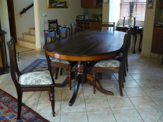 Black And Yellow Wood Dining Room Set For Sale In Brits