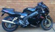 Black Kawasaki Ninja