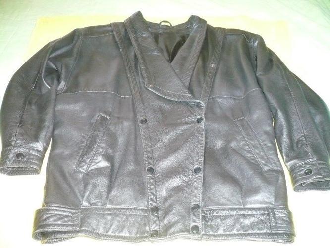 Black Nappa Genuine Leather Jacket