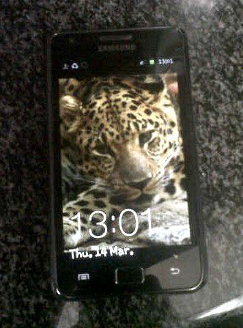 Black Samsung Galaxy S2