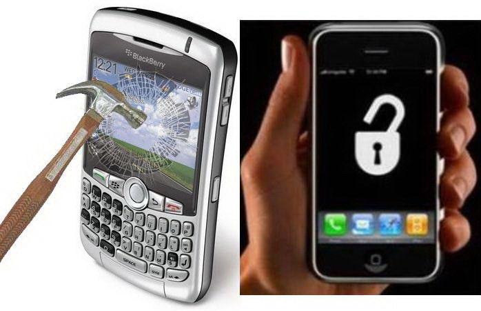 BlackBerry,iPhone,iPad Repairs Incl.Liquid Damage,While