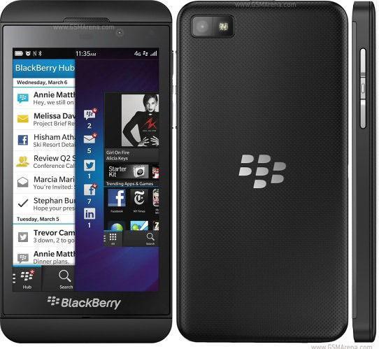 Blackberry Z10 to swop iPhone 4s