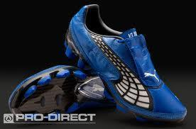 Blue puma boots size 6