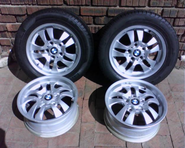 BMW 16 inch mags to Fit E90 and other Bmw's