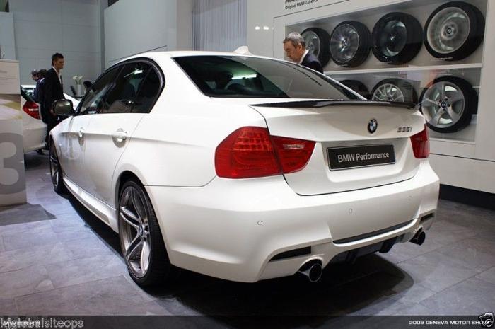 BMW E90 Carbon Fibre Performance Spoiler