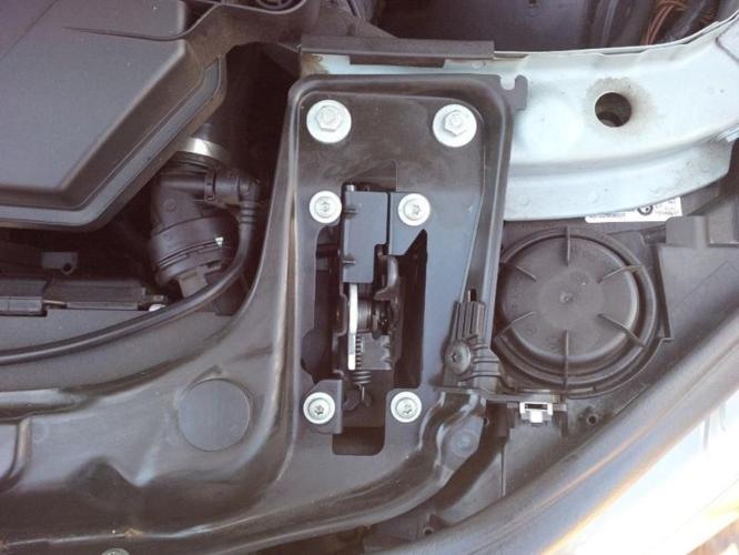 BMW F30 Enge splash cover chassis legs left/right