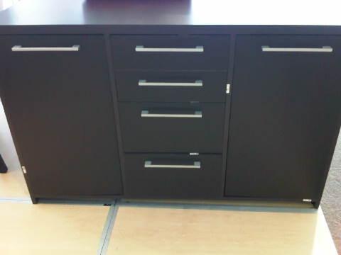 Boardmans Dark Wood Storage Cabinet perfect in the