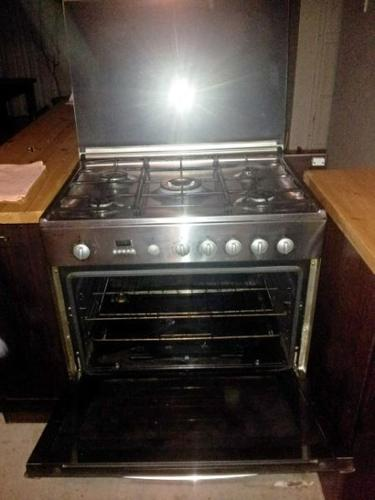 Bosch 5 plate gas stove