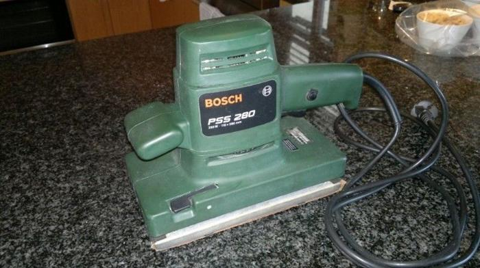 BOSCH PSS 280 Orbital Sander (Excellent Condition.