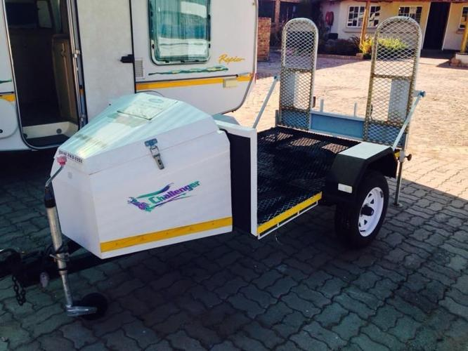 Brand new Challenger quad bike trailer