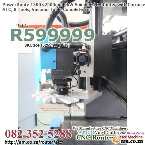 Brand NEW From Factory,CNC Routing Machine w.Disk ATC 8
