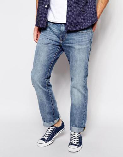 Brand New Mens Esprit Jeans - Light Stone Wash W32 L32