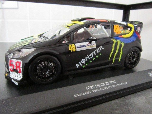 BRAND NEW!! MINICHAMPS FORD FIESTA RS WRC COLLECTION