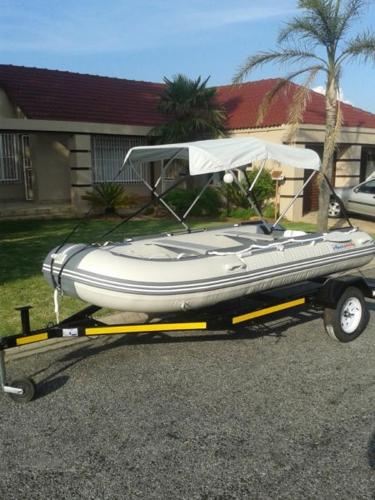 Brand New Spec 3.8m MK II Aquastrike Inflatable Boat