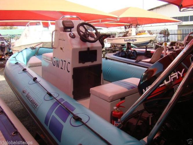 Buccaneer 4.7m Rubber duck with 2x 30hp Mercury's