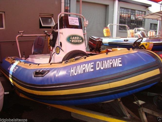 Buccaneer Rubber duck with 55hp Yamaha 2-stroke