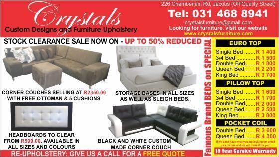Budget corner couch from@ R2350+ ottoman coffe table +