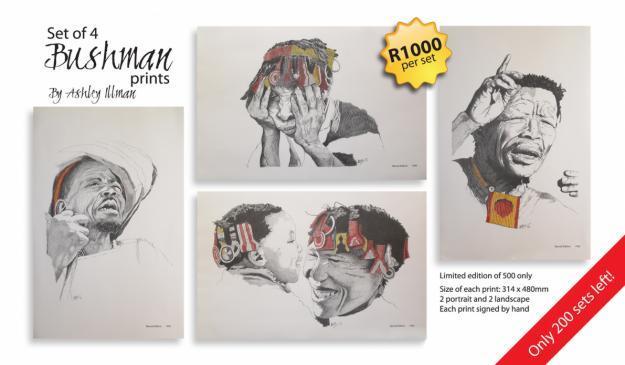 Bushman Prints