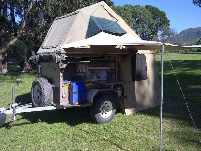 CAMPING TRAILER for Hire