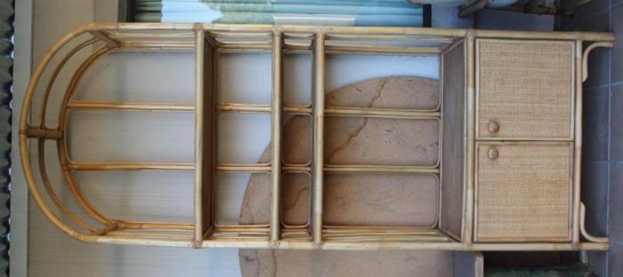 Cane Wall Unit Bookshelf