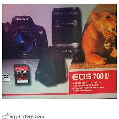 Canon EOS 700D - Double bundle kit